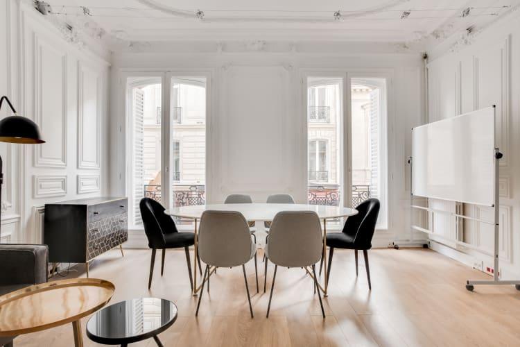 Salle de réunion Paris - salle réunion élégante Malesherbes - Cocoon Malesherbes - Lavoisier