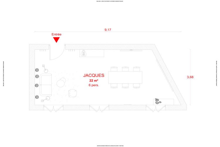 Salle de réunion Paris - Bureau a louer à Paris - Cocoon Rousseau - Jacques