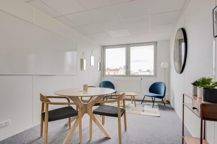 Salle de réunion Paris - Salle de réunion, Bureau à l'heure, Cosy et lumineux - Cocoon Reculettes - Rosalie