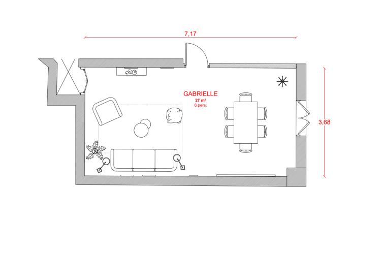 Salle de réunion Paris - Espace cosy Paris Madeleine - Cocoon Arcade - Gabrielle