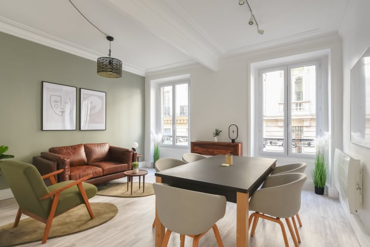 Salle de réunion Paris - Bureau 1-1 Réunion, bureau, espace, salle, coaching, à l'heure, cosy, design, Paris, Madeleine - Cocoon Arcade - Marcel