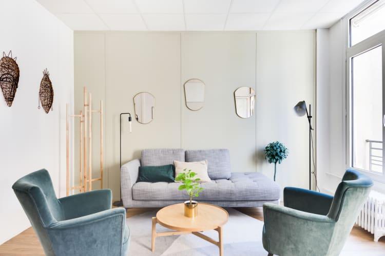 Salle de réunion Paris - Espace cosy et lumineux - Cocoon Bienfaisance - Observance
