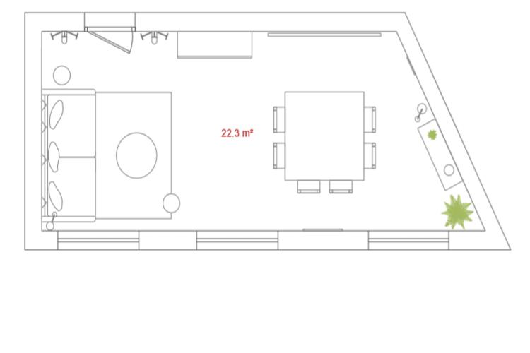 Salle de réunion Paris - Salle de réunion, Bureau à l'heure, Cosy et lumineux - Cocoon Rousseau - Jacques