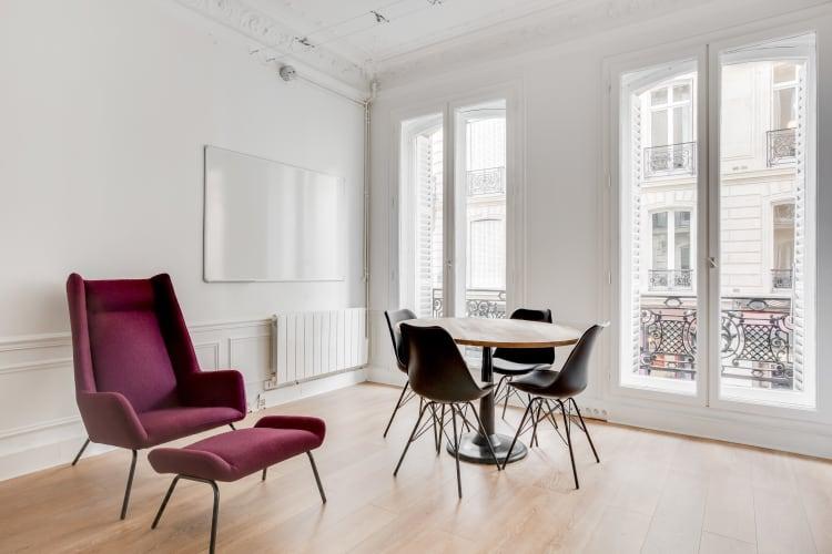 Salle de réunion Paris - Espace de réunion cosy à l'heure Paris - Cocoon Malesherbes - Astorg