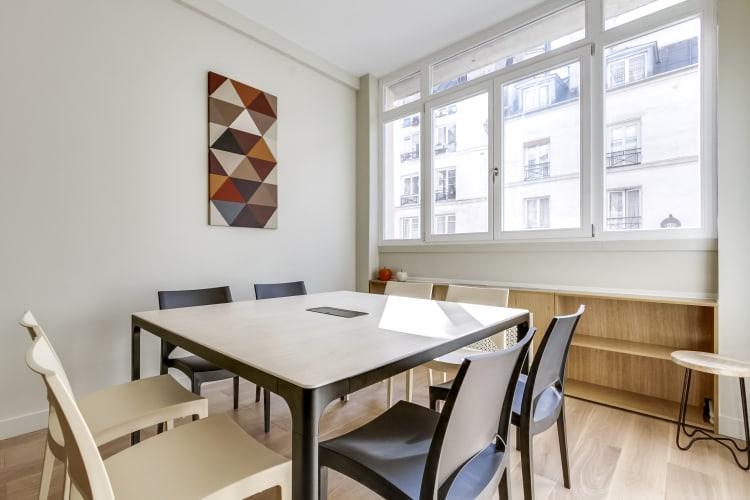 Salle de réunion Paris - Espace de travail a l'heure - Cocoon - Vivienne