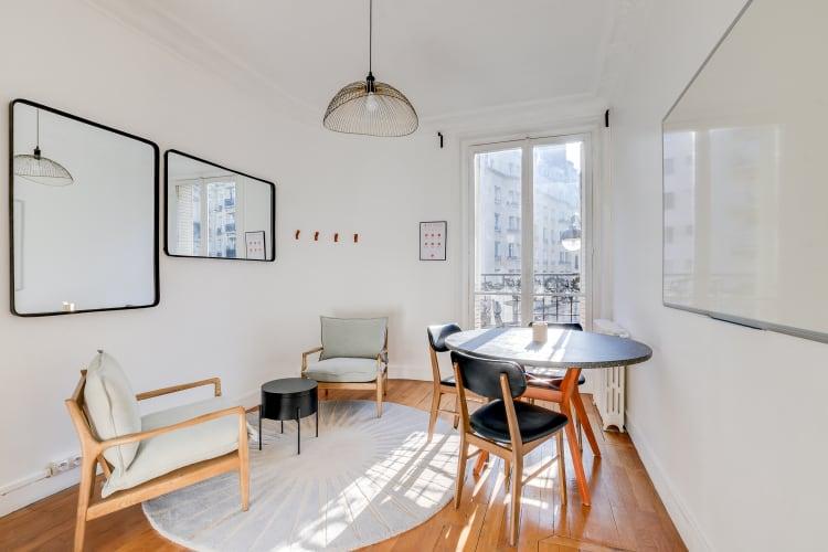 Salle de réunion Paris - réunion, bureau, espace, salle, coaching, à l'heure, cosy, design, Paris, Grenelle - Cocoon Laos - Édouard