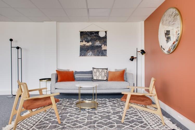Salle de réunion Paris - Coin détente chaleureux paris  - Cocoon Reculettes - Abel