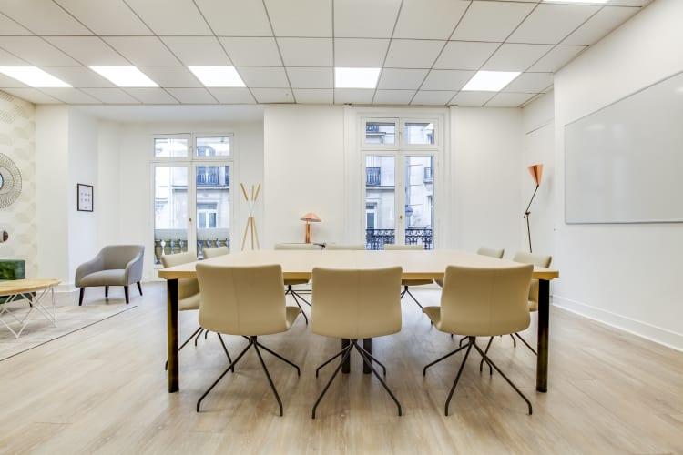 Salle de réunion Paris - Location bureau Paris rue Mogador - Cocoon Mogador - Trinité