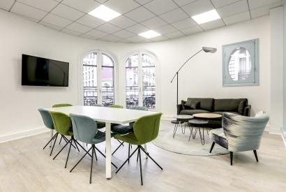 salle de réunion Paris - espace de travail et bureau cocoon à Trinité - Cocoon Mogador - Garnier