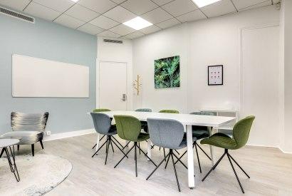 salle de réunion Paris - table de salle de réuion à st lazare - Cocoon Mogador - Garnier