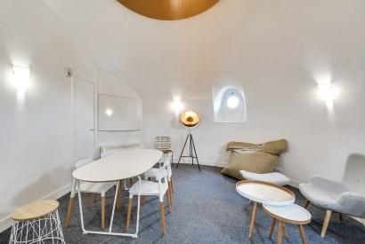 salle de réunion Paris - Vue d'ensemble - Cocoon Mogador - Coupole