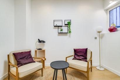 salle de réunion Paris - paris 10 salle cosy - Cocoon Saint-martin