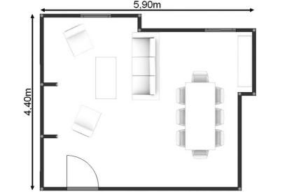 salle de réunion Paris - Plan bureau paris - Cocoon Mogador - Ruche
