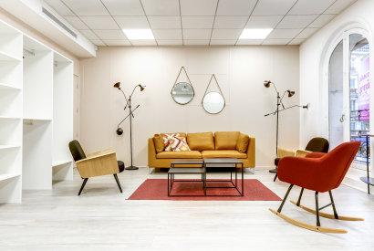 salle de réunion Paris - Espace de travail cosy cocoon - Cocoon Mogador - Lorette