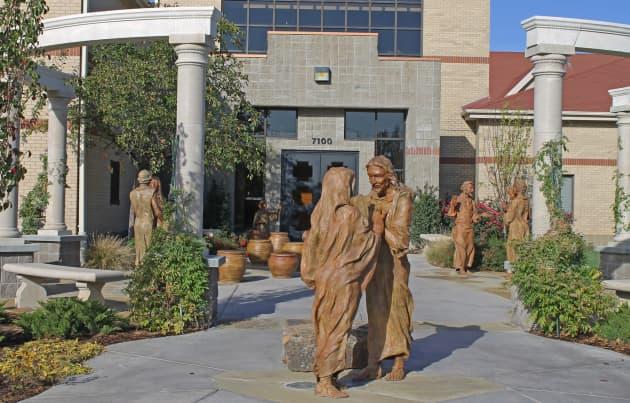 Wedding at Cana Entry Garden