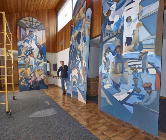 St. Paul Union Depot Murals