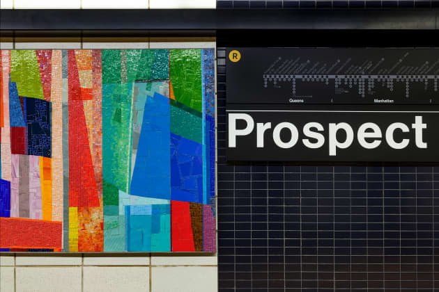 Duration- Prospect Avenue subway station