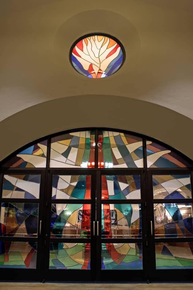 Windows for Mother Cabrini