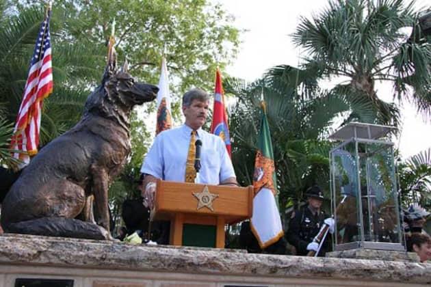 """Drake"" Service Dog Memorial"