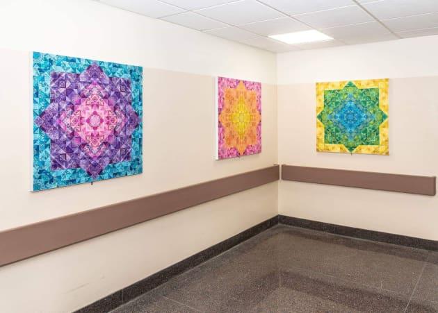 Wyckoff Height's Medical Center Lobby Art