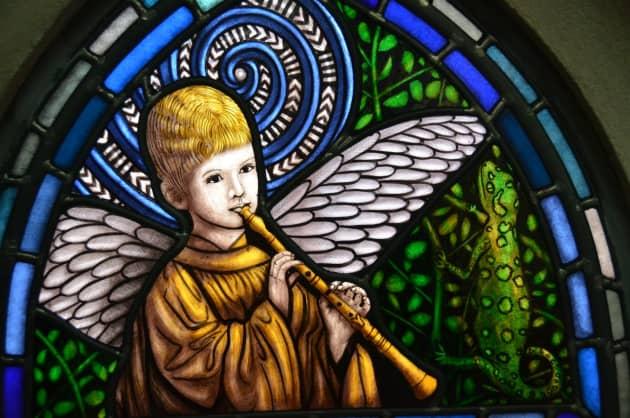 St Paul's Cathedral Dunedin Window