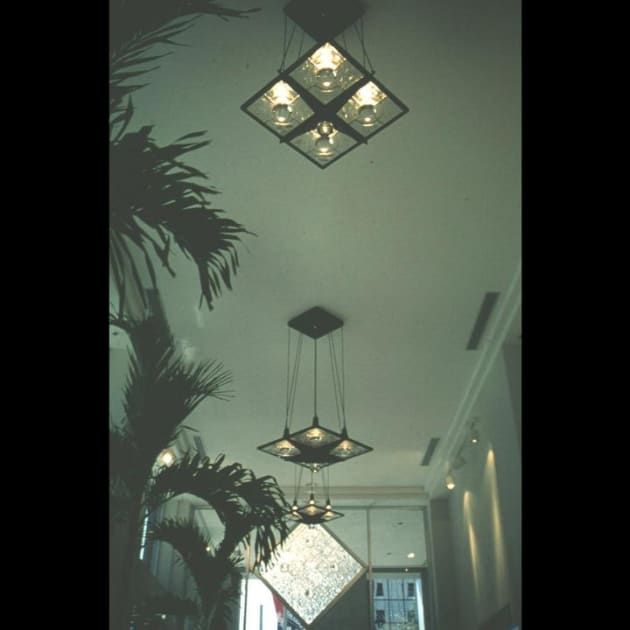 Earth Sign with Great Hall Chandeliers