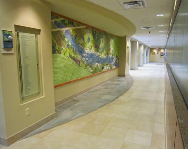 Donor Wall Doylestown Hospital ER
