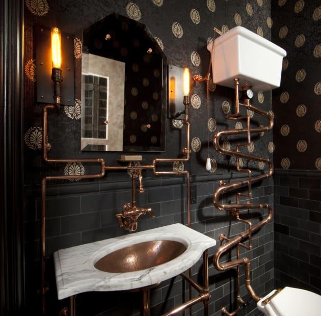 Steampunk Bathroom