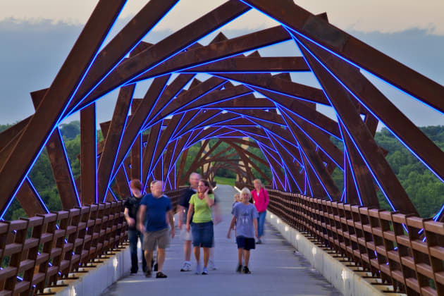 From Here To There : The High Trestle Trail Bridge