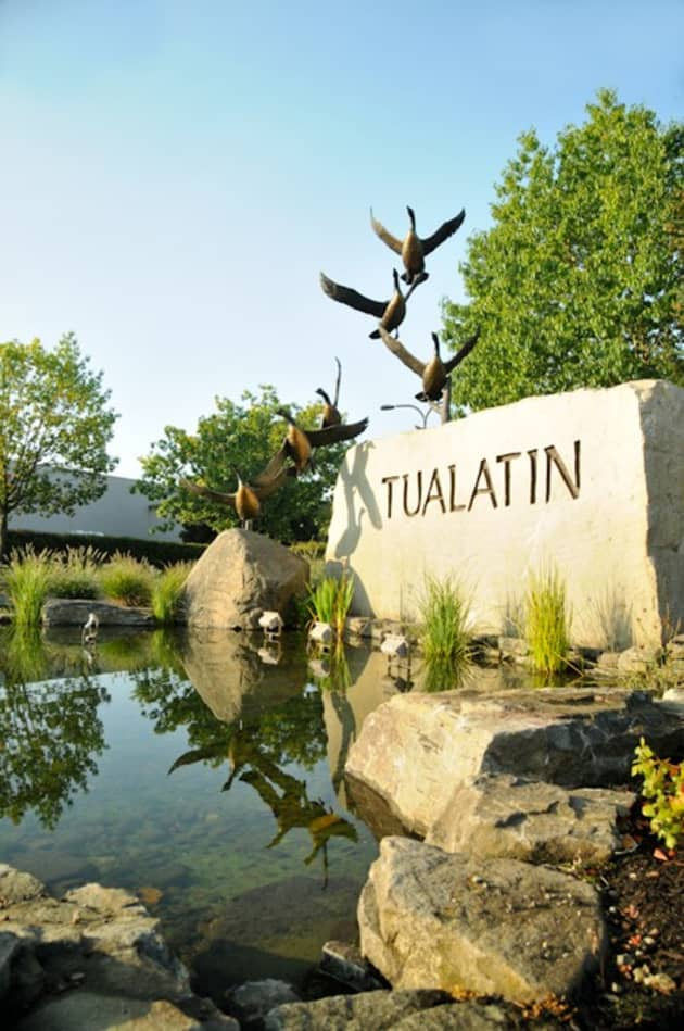 Tualatin Gateway Art Monument