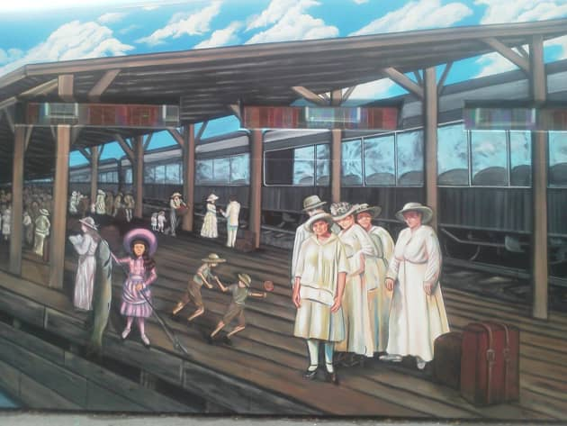 CLAYTON'S TRAIN