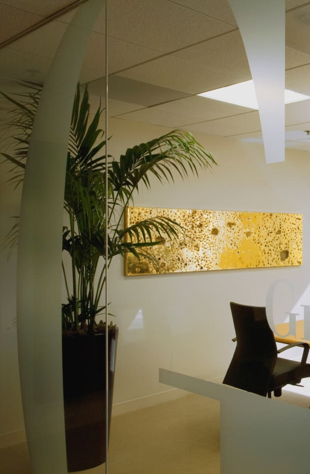 24K Gold Painting for Commercial Bank