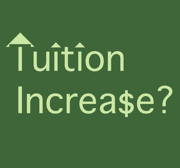 Tuition Increase