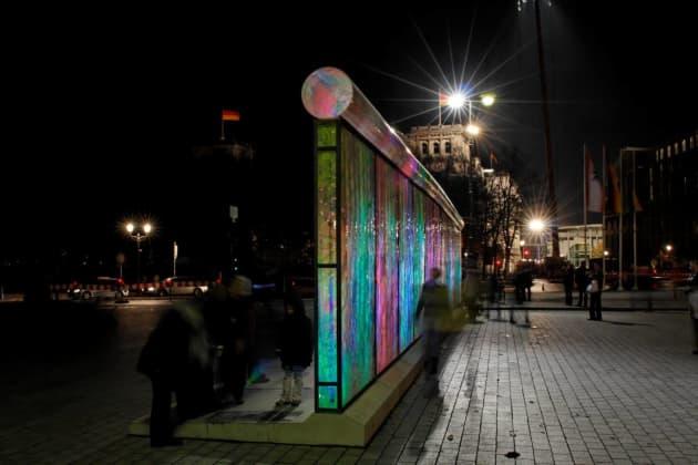 Vanished Berlin Wall