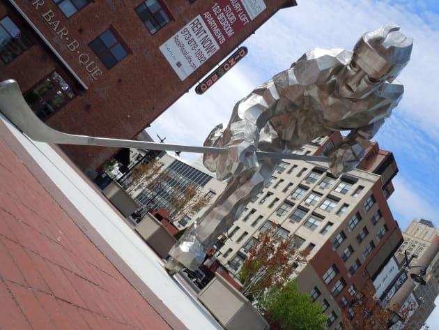 New Jersey Devils Sculpture