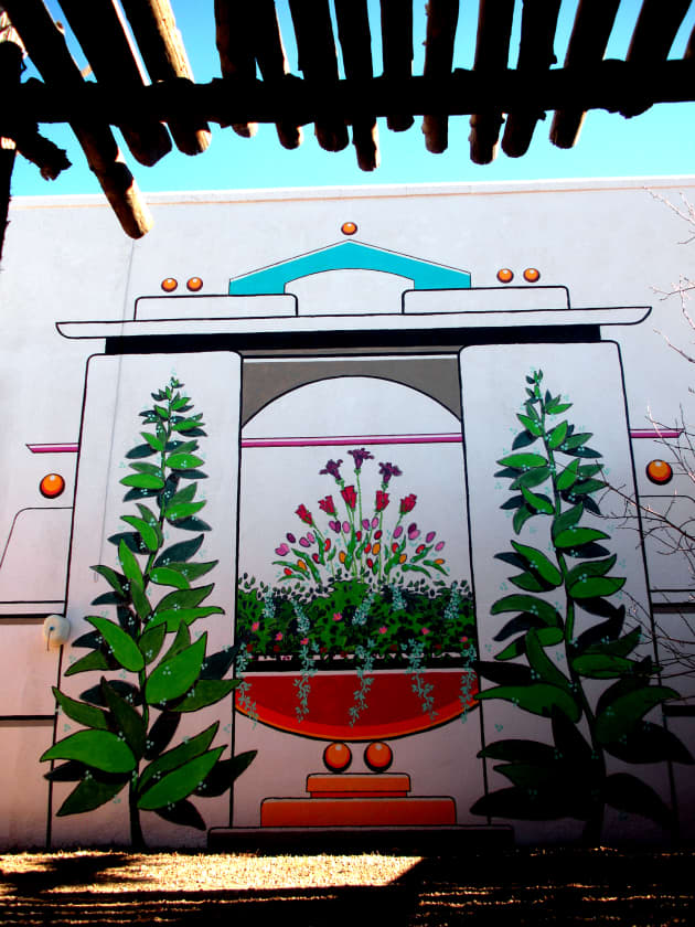 Taos Residential Mural Project