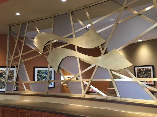 First Federal Bank – Wall Panels