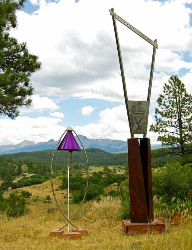 Titanium Garden Bells