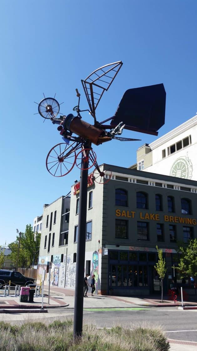 Downtown Flying Objects Flutterfly