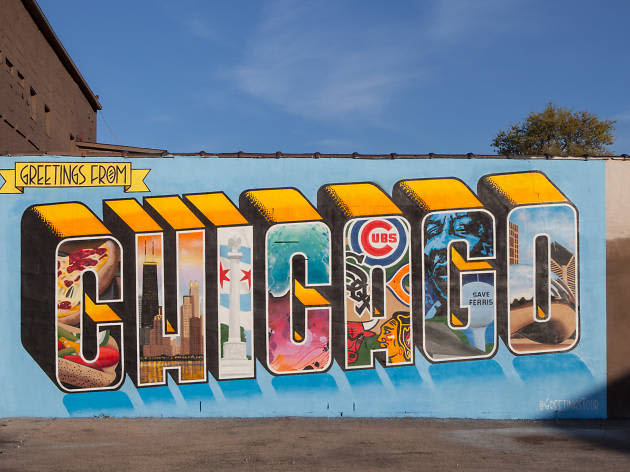 Greetings from Chicago Mural – Interactive