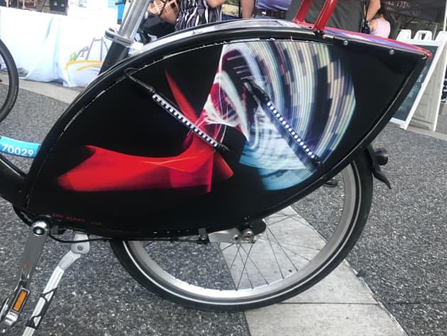 Light Rider: Light Painting BikeShare Bike