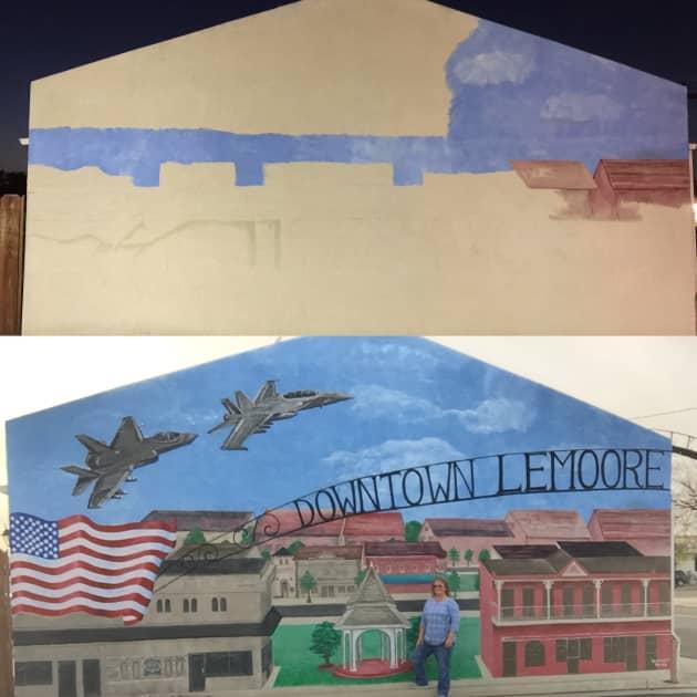Lemoore mural