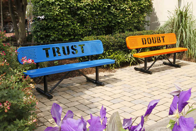 The Trust and Doubt Benches