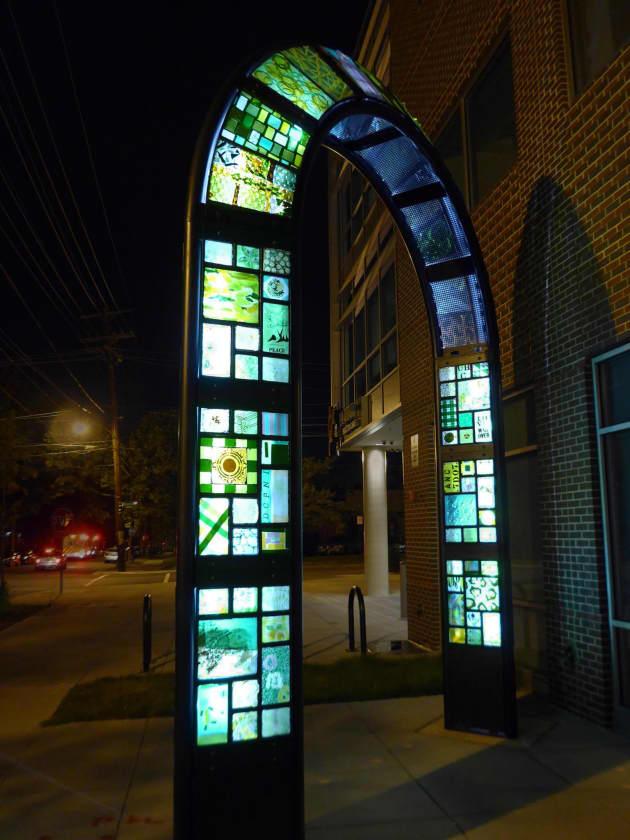Green Gateway Arch