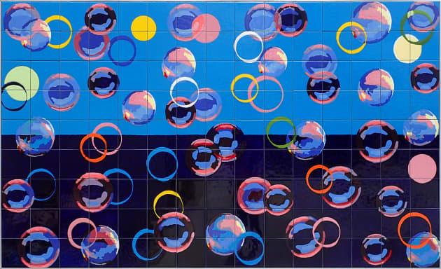 Miami Springs Aquatic Center – Ceramic Tile Murals
