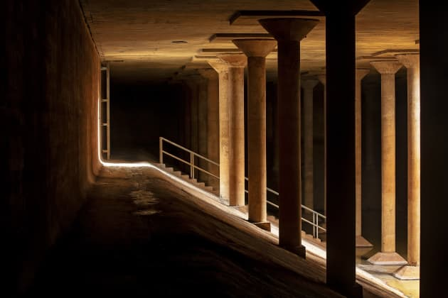 Rain: Magdalena Fernández at the Houston Cistern