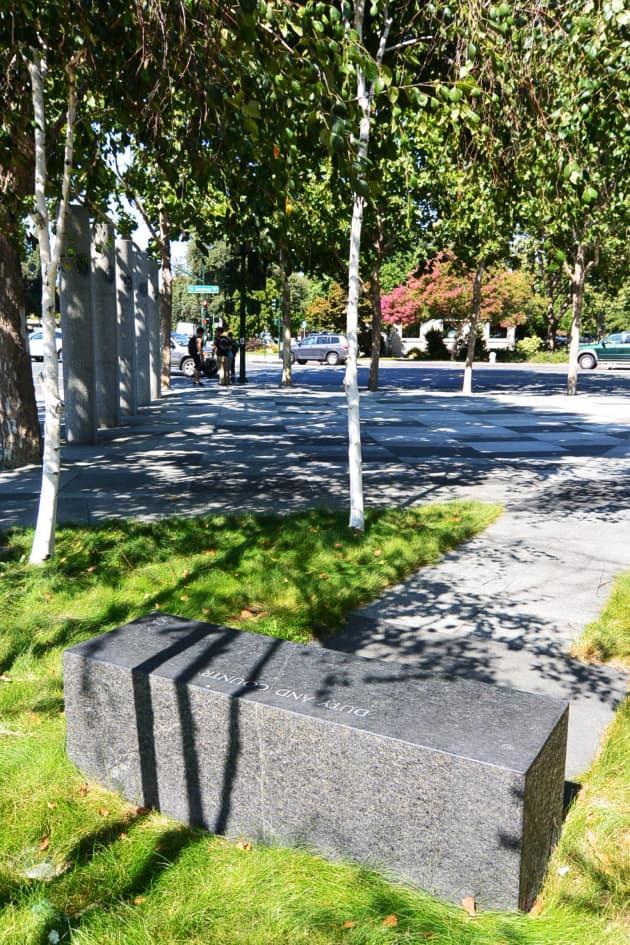 Veterans Memorial Plaza by Cliff Garten