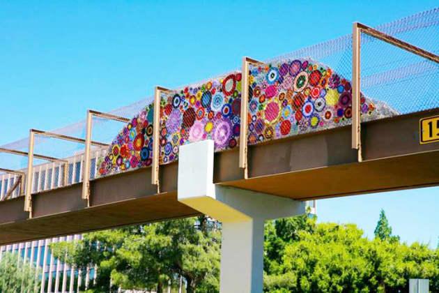 Sunrise Bridge YarnStorming