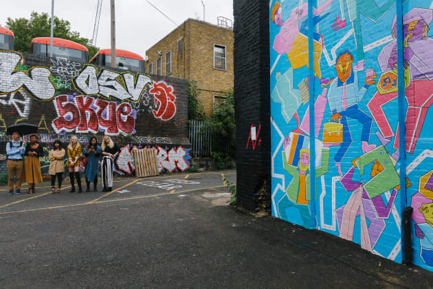 Bright Young Things Take Hackney