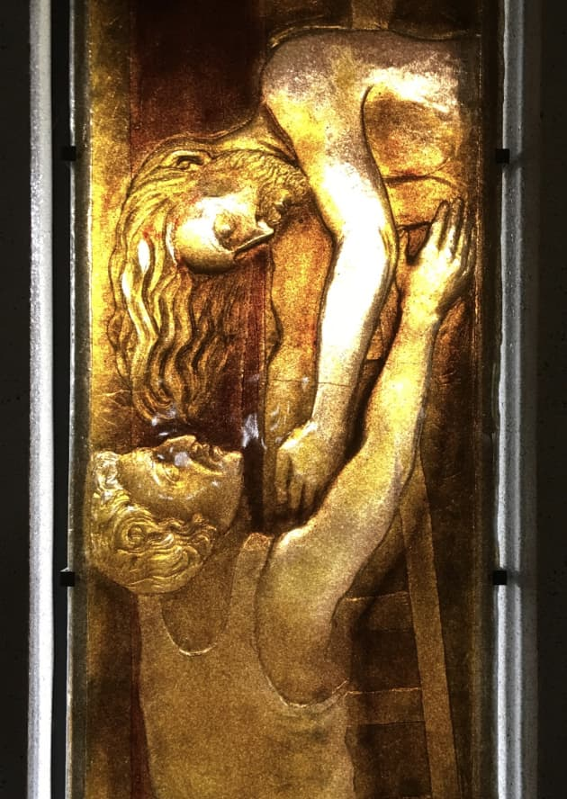 Glass as Relief Sculpture